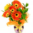 Gerberas bouquet — Stock Photo #4568711