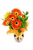 Gerberas bouquet — Stock Photo