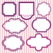 Royalty-Free Stock Vector Image: Vector set of frames