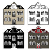 Old house — Wektor stockowy