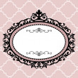 Decorative vintage frame — Vector de stock #4135080