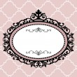 Decorative vintage frame — Stockvektor #4135080