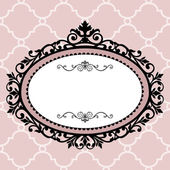 Decorative vintage frame — Stockvector