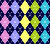 Vector argyle seamless pattern — Stock Vector