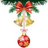 Christmas decoration — Stockvektor