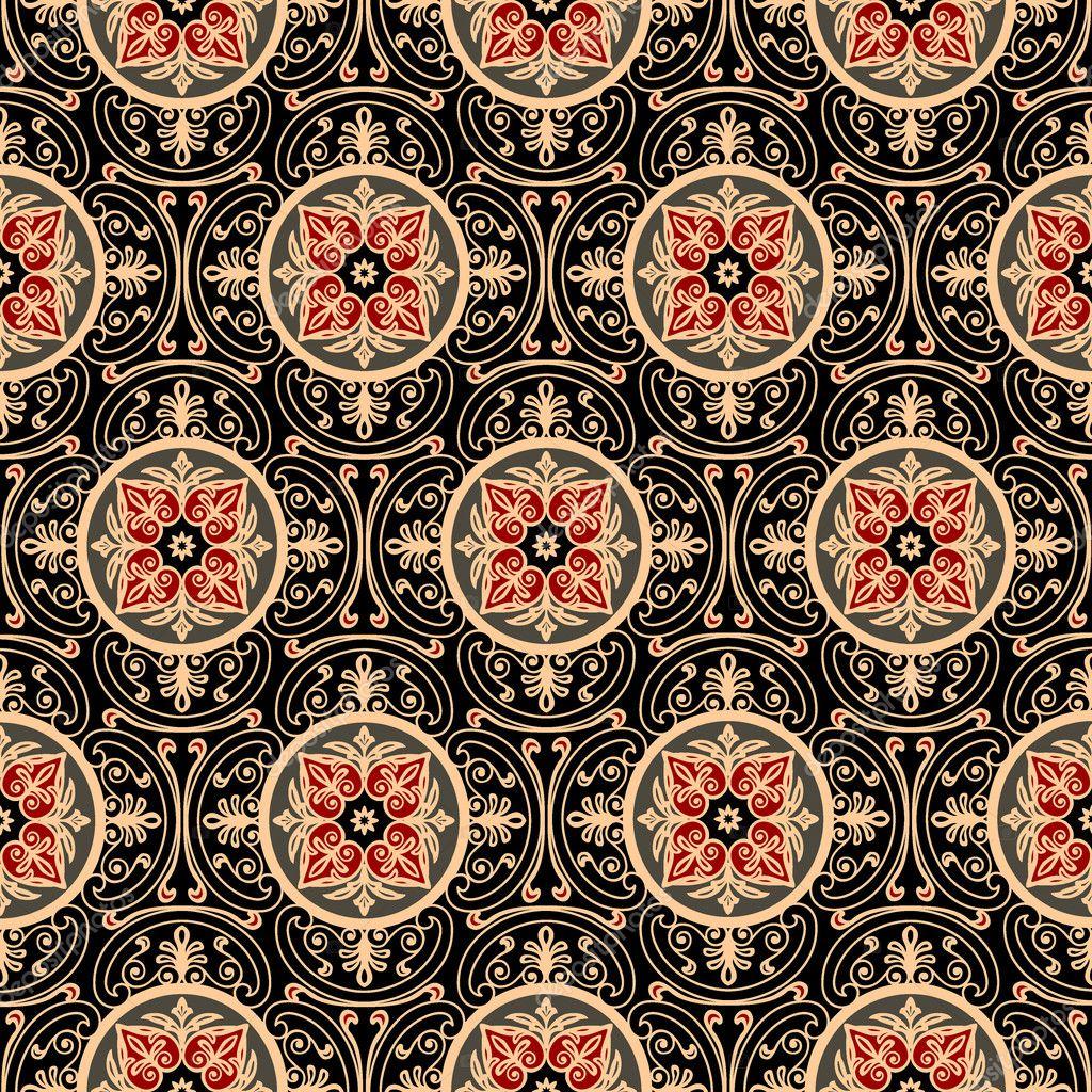 Oriental Pattern Stock Vector 169 Elakwasniewski 4715707