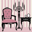 Royalty-Free Stock Imagen vectorial: Antique interior