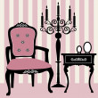 Royalty-Free Stock Vectorielle: Antique interior