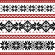 Stock Vector: Nordic pattern