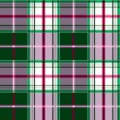 Checkered tartan pattern - Stock Vector