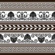 Set of antique borders and elements — Stock Vector #5330705