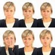 Useful facial expressions — Stock Photo #3973759