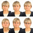 Useful facial expressions — Stock Photo #3973796