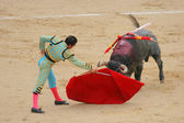 Corrida in madrid — Stock Photo
