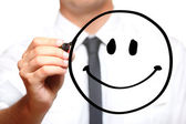Happy face — Foto Stock