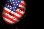 アメリカ合衆国の国旗 — ストック写真