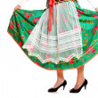 Polish girl in a traditional outfit — Stock Photo #4221559