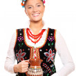Traditional Polish girl — Stock Photo #4221657
