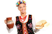 Polish hospitality — Stock Photo