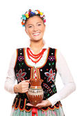 Traditional Polish girl — Stock Photo