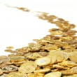 Gold coins — Stockfoto
