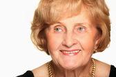 Grandmother smiling — Стоковое фото