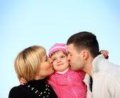 完璧な家族 — ストック写真