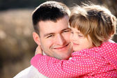 Daddy's girl — Stock Photo