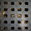 Street drain - Stock Photo