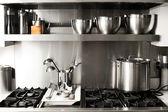 厨房的东西 — 图库照片