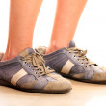große Schuhe — Stockfoto