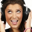 Listening to music — Stock Photo #4943012