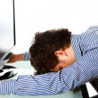 Tired businessman — Foto Stock