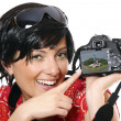 Cute photographer — Stock Photo #4967591
