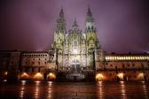 Cathedral in Santiago de Compostella — Stock Photo