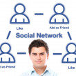 Social network — Stock Photo #5344368