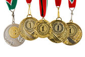 Five medals — Stock Photo