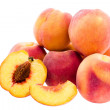 Few peachs — Stock Photo