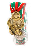 Five medals — Foto Stock