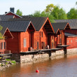 Embankment in Porvoo — Stock Photo