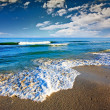 Gorgeous Beach in Summertime — Stok Fotoğraf #4130307