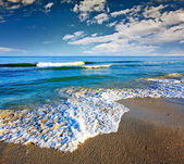 Gorgeous Beach in Summertime — Stok fotoğraf