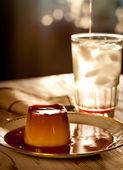 Delicious burnt sugar cream — Stockfoto