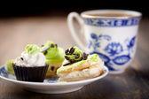 Coffe cakes — Stock Photo