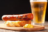 German style sausage — Stock Photo
