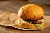 Juicy Hamburger — Stock Photo