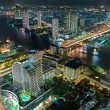 One night in Bangkok - Stock Photo