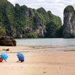 Ao nang beach — Stock Photo