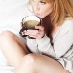 Milchkaffee — Stock Photo