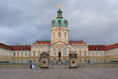 Main entrance of Schloss Charlottenburg at early evening — Stock Photo